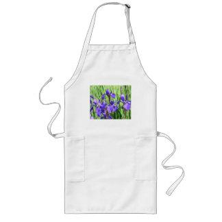 Blue Iris Apron