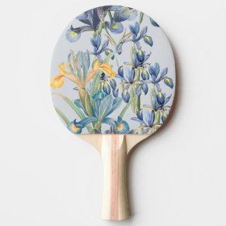 Blue Iris Botanical Flowers Floral Paddle