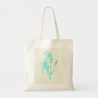 Blue Iris by Redoute Tote Bag
