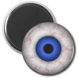 Blue Iris Eyeball Magnet