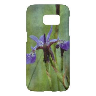 Blue Iris Impressionist Floral Gift Series