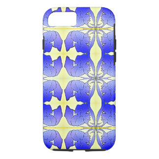 """Blue Iris"" MR Abstract"" iPhone 7 Case"