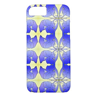 Blue Iris MR Abstract iPhone 7 Case