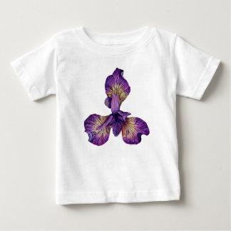 Blue Iris Siberica Flower Baby T-Shirt