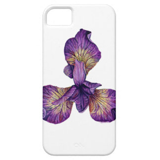 Blue Iris Siberica Flower iPhone 5 Cover