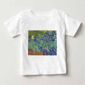 Blue Irises Baby T-Shirt