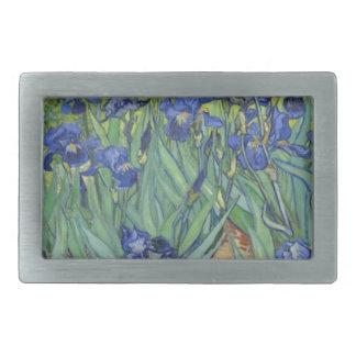 Blue Irises Belt Buckles