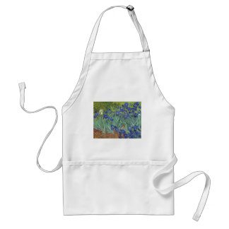 Blue Irises Standard Apron