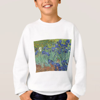 Blue Irises Sweatshirt
