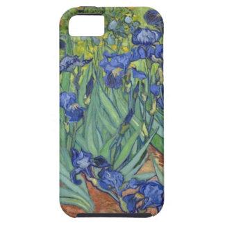 Blue Irises Tough iPhone 5 Case