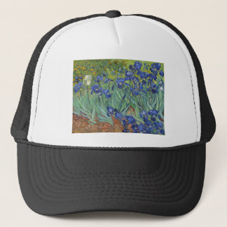 Blue Irises Trucker Hat