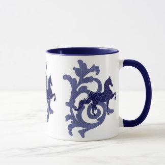 Blue J. Mug