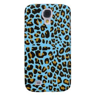 Blue Jaguar fur  iphone 3 Speck case Samsung Galaxy S4 Case