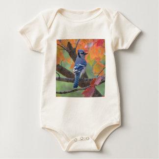 Blue Jay Baby Bodysuit