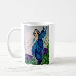 Blue Jay Fairy Coffee Mug