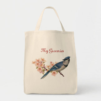 Blue Jay Grocery Tote
