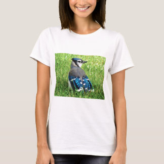 Blue Jay in the Grass T-Shirt