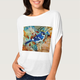 Blue Jay in the Tree Tee Shirt