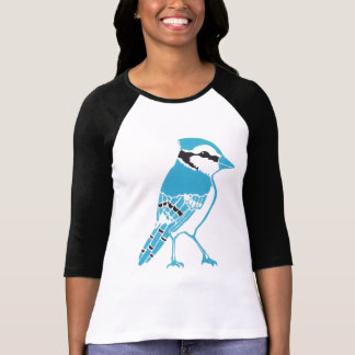 Blue Jay Ladies Raglan T-Shirt