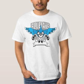 Blue Jay Mascot Logo Tshirt