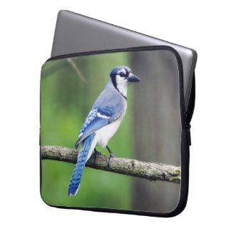 Blue Jay Neoprene Laptop Sleeve