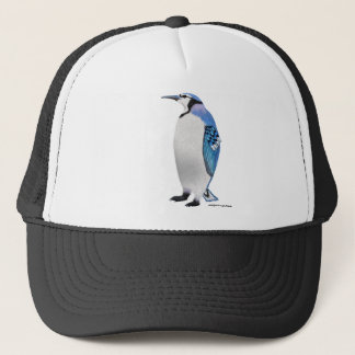Blue Jay Penguin Trucker Hat