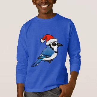 Blue Jay Santa T-Shirt