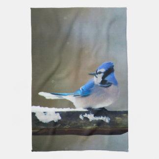 Blue Jay Tea Towel
