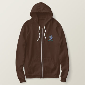 Blue Jays Embroidered Hoodie