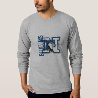 Blue Jays Fitted Long Sleeve T-shirt