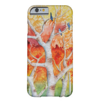 Blue jays in Autumn Barely There iPhone 6 Case