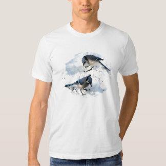 Blue Jays in Snow T Shirt