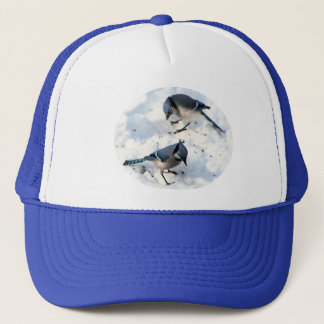 Blue Jays in Snow Trucker Hat