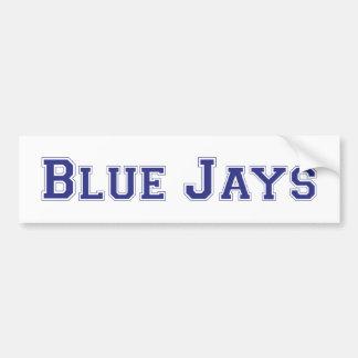 Blue Jays square logo Bumper Stickers