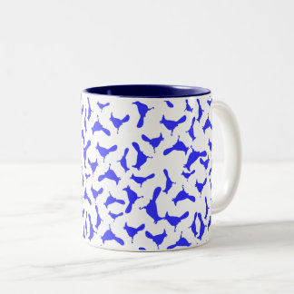 Blue Jays Two-Tone Coffee Mug