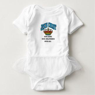 blue jc king deliverer all baby bodysuit