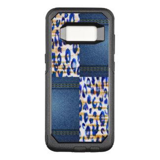 Blue Jean Animal Pattern Design OtterBox Commuter Samsung Galaxy S8 Case