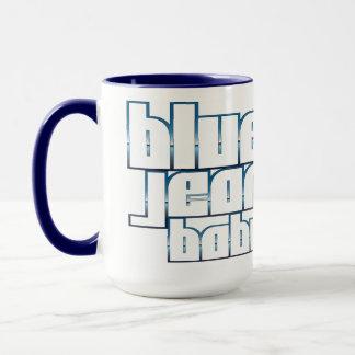 Blue Jean Baby Ringer Mug
