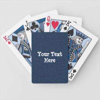 blue jean card deck