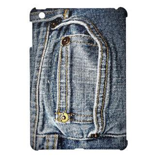 Blue Jean Denim Pocket Case For The iPad Mini