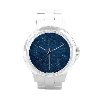 blue jean peace watch