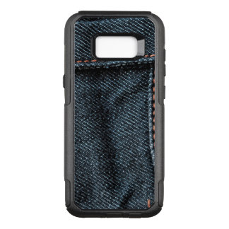 Blue Jean Stitching OtterBox Commuter Samsung Galaxy S8+ Case