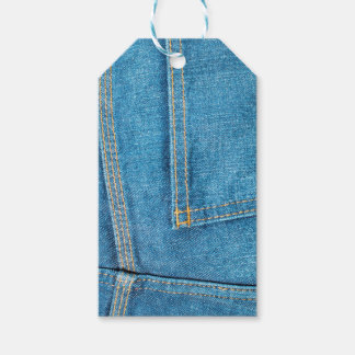 Blue Jeans Back Pocket Gift Tags