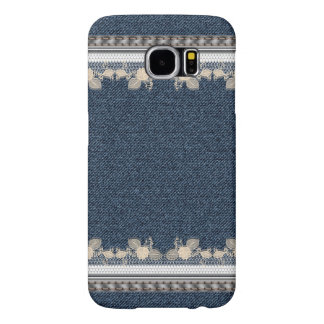 Blue Jeans Denim Style Samsung Galaxy S6 Cases