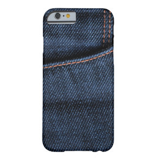Blue Jeans Pocket Barely There iPhone 6 Case