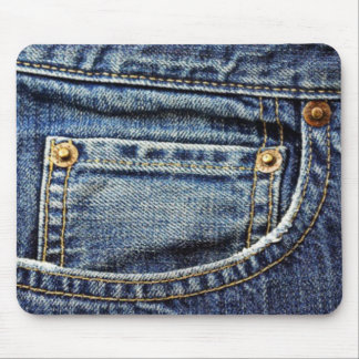 Blue Jeans Pocket Mouse Pad
