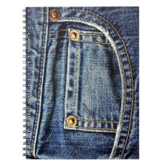 Blue Jeans Pocket Notebooks