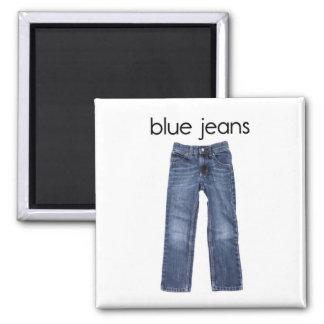 Blue Jeans Refrigerator Magnet