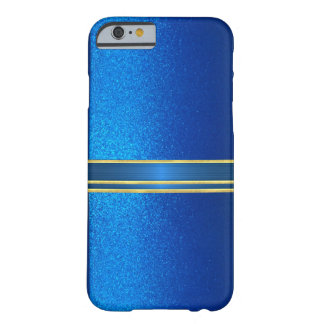 Blue Jewel Sparkle Case Barely There iPhone 6 Case