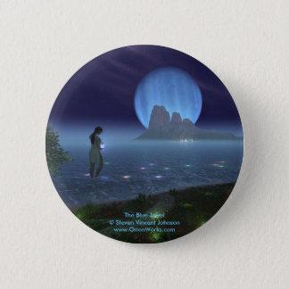 Blue Jewel, The Blue Jewel Steven Vincent John... 6 Cm Round Badge